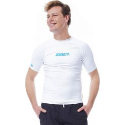 Koszulki sportowe męskie: JOBE Koszulka męska Rashguard biała r. L (544017050-L)