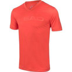Koszulki sportowe męskie: Head Koszulka tenisowa Head Transition T4S V-Neck Shirt M pomarańczowa r. XL (811306*XL*FL)