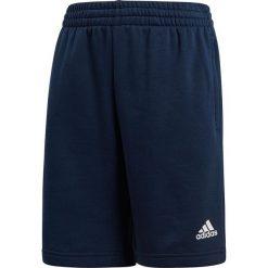 Bermudy męskie: Adidas Spodenki granatowe YB Logo Short r. 158 cm (CE8622)