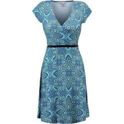 Sukienki: Anna Field FLORAL Sukienka z dżerseju turquoise/green