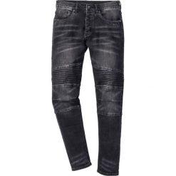 """Dżinsy ze stretchem Slim Fit Straight bonprix czarny """"stone used"""". Czarne jeansy męskie relaxed fit marki bonprix, z jeansu. Za 149,99 zł."""