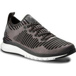 Buty Reebok - Print Smooth 2.0 Ultk CN1742  Coal/Gry/Alloy/Wht/Blk. Szare buty do biegania damskie marki Reebok, l, z dzianiny, z okrągłym kołnierzem. W wyprzedaży za 259,00 zł.
