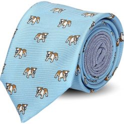 Krawaty męskie: krawat winman niebieski classic 212