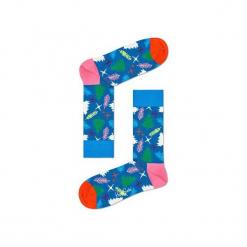 Skarpetki Happy Socks - Holiday XMAS (TRE01-6000). Szare skarpetki męskie Happy Socks, w kolorowe wzory, z bawełny. Za 34,90 zł.