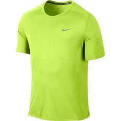 Nike Koszulka męska DF Miler SS żółta r. L (683527 702). Białe koszulki sportowe męskie marki Adidas, l, z jersey, do piłki nożnej. Za 89,00 zł.