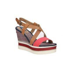 Sandały Wrangler  Sandały  Kelly Sunshine WL171664. Brązowe sandały damskie Wrangler. Za 208,99 zł.
