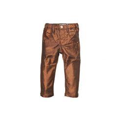 NAME IT Girls Mini Spodnie stretch BEAUTY denim. Brązowe spodnie chłopięce marki Name it, z bawełny. Za 69,00 zł.