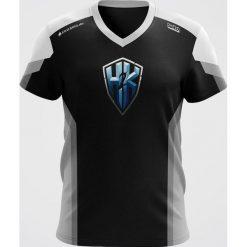 Koszulki sportowe męskie: H2K Koszulka męska Jersey czarna r. XL