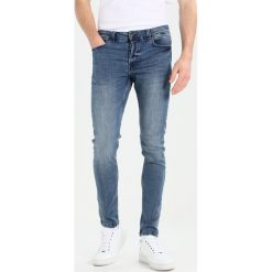 Only & Sons ONSSPUN Jeansy Slim Fit blue denim. Brązowe jeansy męskie marki Only & Sons, l, z poliesteru. Za 169,00 zł.