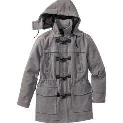 Płaszcze męskie: Płaszcz budrysówka z domieszką wełny bonprix szary