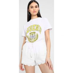 T-shirty damskie: NORR BELL TEE Tshirt z nadrukiem white