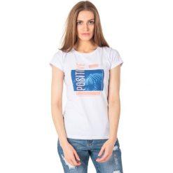 Outhorn Koszulka damska HOL18-TSD619 biała r. S. Białe bluzki damskie Outhorn, s. Za 24,99 zł.