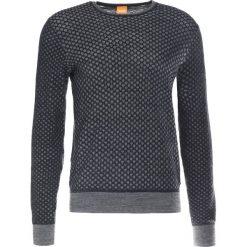 BOSS CASUAL KEWARCO Sweter dark blue. Niebieskie kardigany męskie marki BOSS Casual, m, z bawełny. W wyprzedaży za 463,20 zł.