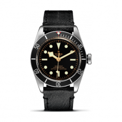 ZEGAREK TUDOR HERITAGE BLACK BAY 79230N STRAP BLACK INDEX PINK. Czarne zegarki męskie TUDOR, ze stali. Za 13890,00 zł.