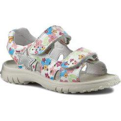 Sandały dziewczęce: Sandały NATURINO – 5675 0010502024.07.9161 Bianco Multicolor
