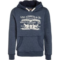 Levi's® JASPY Bluza z kapturem denim. Brązowe bluzy chłopięce rozpinane marki Levi's®, z bawełny. W wyprzedaży za 175,20 zł.