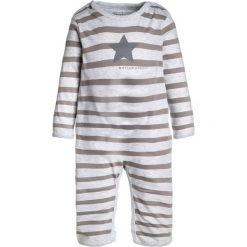 Bielizna chłopięca: bellybutton PLAYSUIT 1/1 SLEEVES BABY  Piżama sandy gray melange