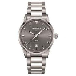 RABAT ZEGAREK CERTINA DS 2 Gent Precidrive C024.410.11.081.20. Szare zegarki męskie CERTINA, ze stali. W wyprzedaży za 1443,20 zł.