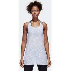 Adidas Koszulka damska W Id Loose Tank biała r. M (CF2661). Białe topy sportowe damskie Adidas, m. Za 113,46 zł.
