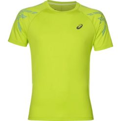 Koszulka do biegania męska ASICS SHORT SLEEVE STRIPE TOP / 141199-0432 - ASICS SHORT SLEEVE STRIPE TOP. Żółte koszulki do biegania męskie marki Asics, m, z krótkim rękawem. Za 109,00 zł.