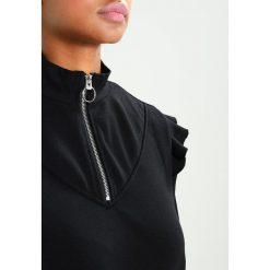 Bluzy rozpinane damskie: Even&Odd Bluza  black