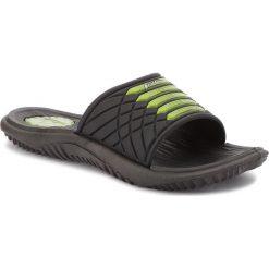 Chodaki męskie: Klapki RIDER - Montana VII Ad 82327 Black/Black/Green 23680
