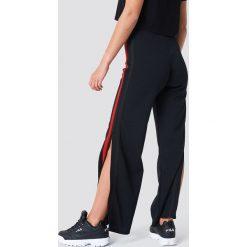 Spodnie z wysokim stanem: Sisters Point Spodnie Nodit - Black