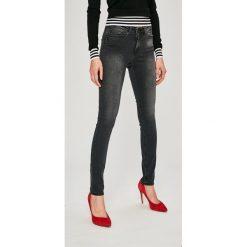 Noisy May - Jeansy. Czarne jeansy damskie marki Noisy May, z bawełny. W wyprzedaży za 89,90 zł.