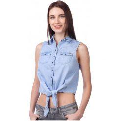 Pepe Jeans Bluzka Damska Binx L Niebieski. Czarne bralety marki Fille Du Couturier, z bawełny. W wyprzedaży za 192,00 zł.