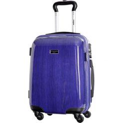 Walizki: Walizka w kolorze niebieskim – 35 l
