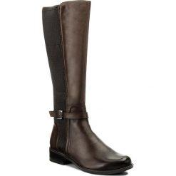 Buty zimowe damskie: Oficerki CAPRICE - 9-25505-29 Dk Brown Nappa 337
