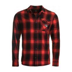 Koszule męskie na spinki: FOX Koszula Męska Voyd Flannel Xl Czerwony