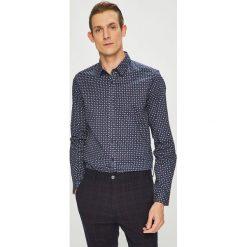 Medicine - Koszula Contemporary Classics. Szare koszule męskie na spinki marki S.Oliver, l, z bawełny, z włoskim kołnierzykiem, z długim rękawem. Za 129,90 zł.