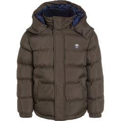 Timberland Kurtka zimowa kaki. Brązowe kurtki chłopięce zimowe marki Reserved, l, z kapturem. W wyprzedaży za 391,20 zł.
