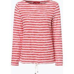 T-shirty damskie: s.Oliver Casual – Damska koszulka z długim rękawem, czerwony