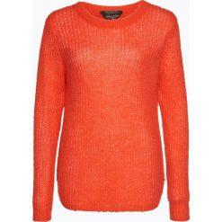 Swetry damskie: Scotch & Soda – Sweter damski z dodatkiem moheru, pomarańczowy