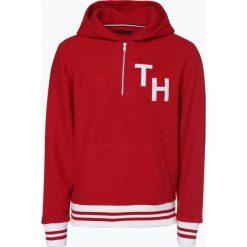 Tommy Hilfiger - Męska bluza nierozpinana, czerwony. Szare bluzy męskie rozpinane marki TOMMY HILFIGER, z bawełny. Za 499,95 zł.