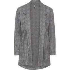 Marynarki i żakiety damskie: Żakiet shirtowy bonprix czarno-biały w kratę