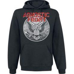 Agnostic Front All Against All Bluza z kapturem czarny. Czarne bluzy męskie rozpinane Agnostic Front, l, z nadrukiem, z kapturem. Za 164,90 zł.