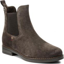 Sztyblety LASOCKI - MARGA-08W Szary. Szare buty zimowe damskie Lasocki, ze skóry, na obcasie. Za 199,99 zł.