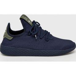 Adidas Originals - Buty Pharrell Williams Tennis HU. Czarne buty sportowe damskie adidas Originals, z gumy. W wyprzedaży za 319,90 zł.