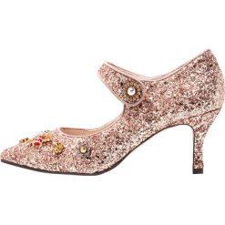 Lodi EBONY Czółenka spark nude. Różowe buty ślubne damskie Lodi, z materiału. Za 789,00 zł.