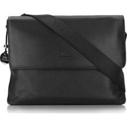 Torba na laptopa 20-3-043-11. Czarne torby na laptopa marki Wittchen, w paski, z tłoczeniem. Za 1199,00 zł.