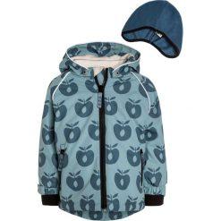 Odzież dziecięca: Småfolk APPLES SET Czapka stone blue