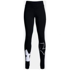 Under Armour Spodnie damskie Finale Knit Legging czarne r. L (1311007-001). Szare spodnie sportowe damskie marki Under Armour, z elastanu, sportowe. Za 73,49 zł.