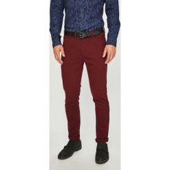 Medicine - Spodnie Basic. Brązowe chinosy męskie MEDICINE, w paski, z bawełny. Za 129,90 zł.