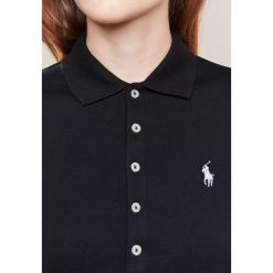 Polo Ralph Lauren JULIE POLO Koszulka polo black/white. Czarne bralety Polo Ralph Lauren, xs, z bawełny, polo. Za 419,00 zł.