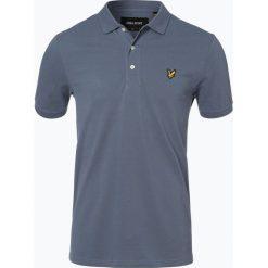 Koszulki polo: Lyle & Scott – Męska koszulka polo, niebieski