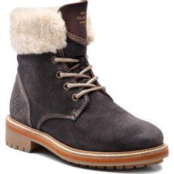 Trapery GANT - Natalie 17543925 Black/Gray G006. Niebieskie buty zimowe damskie GANT, z materiału. Za 699,90 zł.