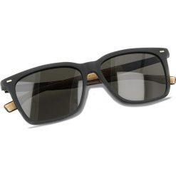 Okulary przeciwsłoneczne damskie aviatory: Okulary przeciwsłoneczne BOSS – 0883/S Matt Black 0R5